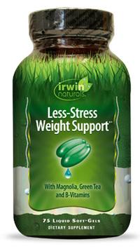 Less-Stress Weight Support®, 75 liquid soft gels (Irwin Naturals)
