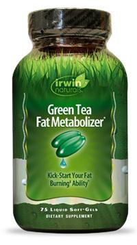 Green Tea Fat Metabolizer, 75 liquid soft gels (Irwin Naturals)