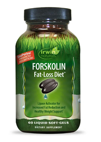 Forskolin Fat-Loss Diet, 60 liquid softgels (Irwin Naturals)