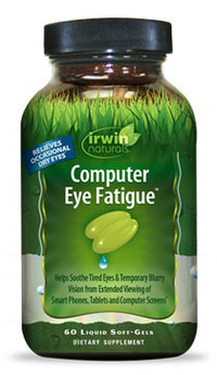 Computer Eye Fatigue, 60 liquid soft gels (Irwin Naturals)
