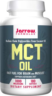 MCT Oil - 1000 mg, 180 softgels (Jarrow Formulas)
