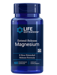 Extend Release Magnesium - 250 mg, 60 vegetarian capsules (Life Extension)
