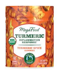 Turmeric Gummies, 90 gummies (Mega Food)