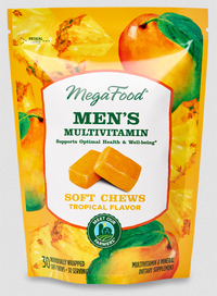 Men's Multivitamin Soft Chews, 30 Chews (Mega Food)
