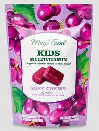 Kids Multivitamin Soft Chews, 30 Chews (Mega Food)
