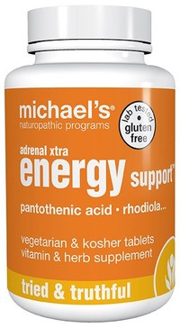 Adrenal Xtra Energy Support™, 60 vegetarian tablets (Michael's Naturopathic)
