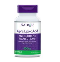 Alpha Lipoic Acid - 600 mg, 30 capsules (Natrol)
