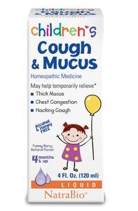 Children Cough & Mucus, 4 fl oz (Natra Bio)