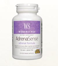 AdrenaSense®, 60 vegetarian capsules (Natural Factors)