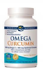 Omega Curcumin, 60 softgels (Nordic Naturals)
