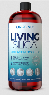 Living Silica Collagen Booster Liquid Supplement,16.9 Fl Oz (Orgono)