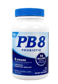 PB8™ Acidophilus Probiotics - 14 Billion CFU, 120 capsules (Nutrition Now)