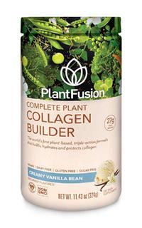 Complete Plant Collagen Builder Vanilla, 11.43oz/324g (PlantFusion)