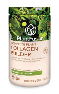 Complete Plant Collagen Builder Natural Flavor, 10.58oz/300g (PlantFusion)