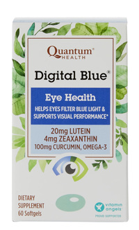 Digital Blue Eye Health,  60 softgels (Quantum Health)
