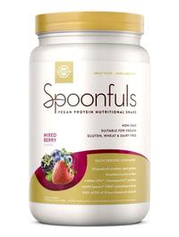 Spoonfuls Vegan Protein Powder - Mixed Berry, 20.74 oz (Solgar)