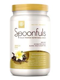 Spoonfuls Vegan Protein Powder - Vanilla Chai, 20.74 oz (Solgar