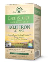 Koji Iron - 27 mg, 30 vegetable capsules (Solgar)