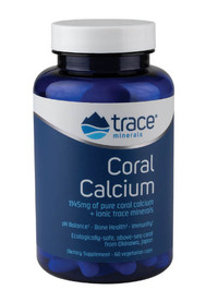 Coral Calcium - 1145 mg,  60 Vcaps (Trace Minerals Research)