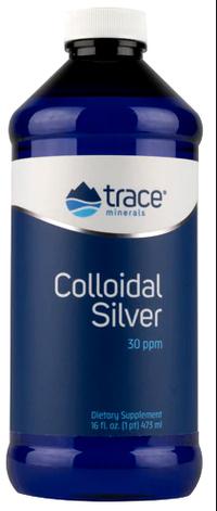 Colloidal Silver - 30 ppm, 16 fl oz / 473 ml (Trace Minerals Research)