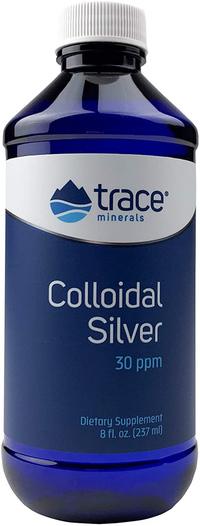 Colloidal Silver - 30 ppm, 8 fl oz / 237 ml ml (Trace Minerals Research)