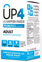 UP4 Adult Probiotics -15 Billion CFU 60 vegetable capsules (UAS Labs)