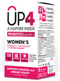 UP4 Women's Probiotics - 10 Billion CFU 60 vegetable capsules (UASLabs)
