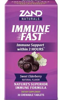 Immune Fast - Sweet Elderberry, 30 chewable tablets (Zand)