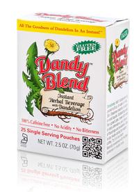 Dandy Blend Instant Dandelion Beverage, 25 Single Serving Packets (Goosefoot Acres Inc.)