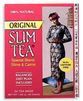 Slim Tea - Original, 24 bags (Hobe Labs)
