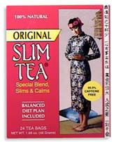 Slim Tea - Original, 24 bags (Hobe Labs)