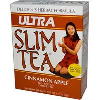 Ultra Slim Tea - Cinnamon Apple, 24 tea bags (Hobe Labs)
