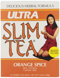 Ultra Slim Tea - Orange Spice, 24 tea bags (Hobe Labs)