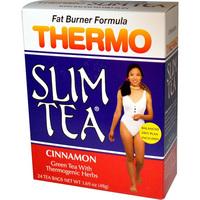 Thermo Slim Tea - Cinnamon, 24 tea bags (Hobe Labs)