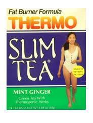 Thermo Slim Tea - Mint Ginger, 24 tea bags (Hobe Labs)