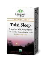 Tulsi Tea - Sleep, 18 tea bags (Organic India)