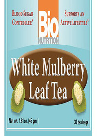 White Mulberry Leaf Tea, 30 tea bags (Bio Nutrition)