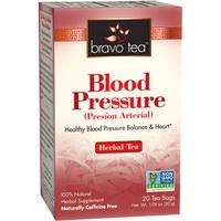 Blood Pressure Tea, 20 tea bags (Bravo Tea)