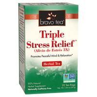 Triple Stress Relief Tea, 20 tea bags (Bravo Tea)