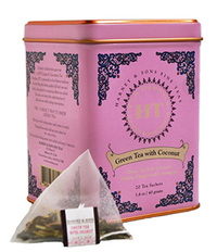 Green Tea with Coconut, 20 tea sachets (Harney & Sons)