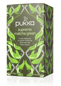 Pukka Supreme Matcha Green Tea, 20 herbal tea sachets