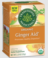 Ginger Aid® Tea - 16 tea bags (Traditional Medicinals)