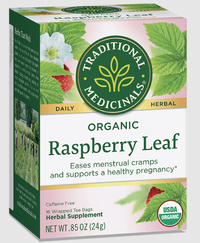 Raspberry Leaf Tea - Organic  16 tea bags (Traditional Medicinals)