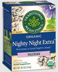 Nighty Night® Valerian Tea 16 tea bags (Traditional Medicinals)