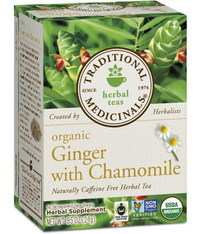 Ginger With Chamomile Tea - Organic 16 tea bags (Traditional Medicinals)