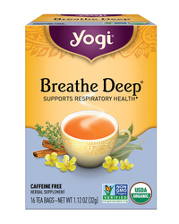 Breathe Deep Tea - Organic  16 tea bags (Yogi Tea)