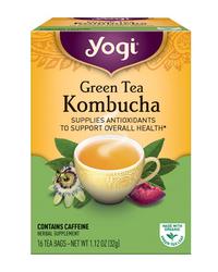 Green Tea Kombucha, 16 tea bags (Yogi Tea)