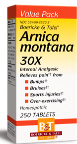 Arnica Montana 30X, 250 tablets (Boericke & Tafel)