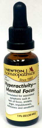 Hyperactivity - Mental Focus, 1 fl oz / 30 ml (Newton Homeopathics)