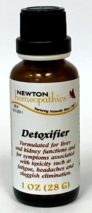 Detoxifier Pellets, 500 Pellets (Newton Homeopathics)